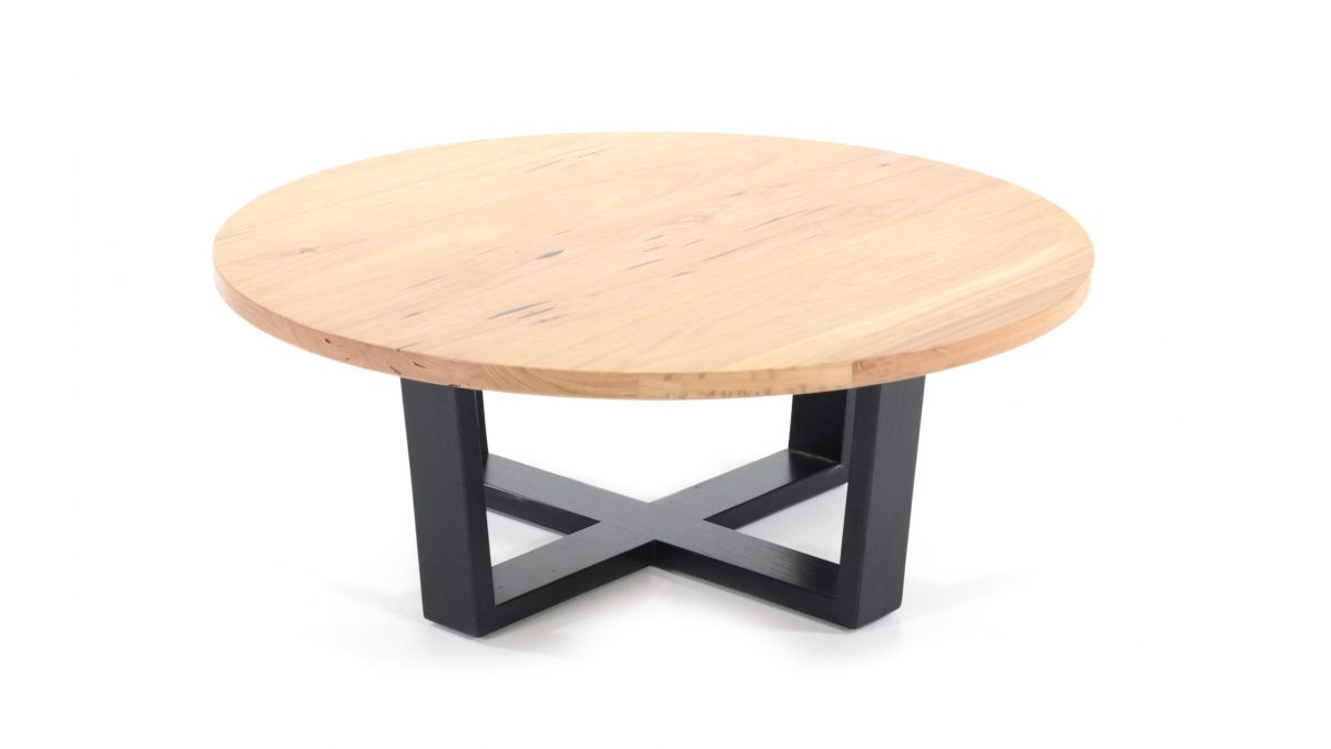 Melton Coffee Table Black Legs 1