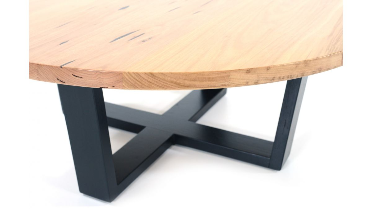 Melton Coffee Table Black Legs 2